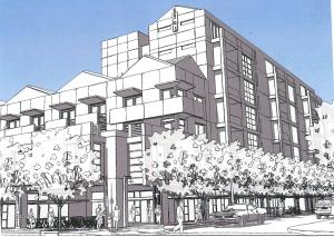 Proposed 7th St./Earll development