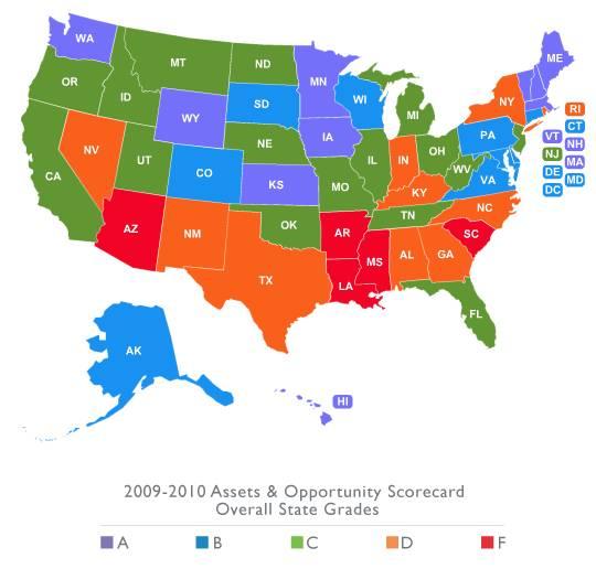 CFED Map
