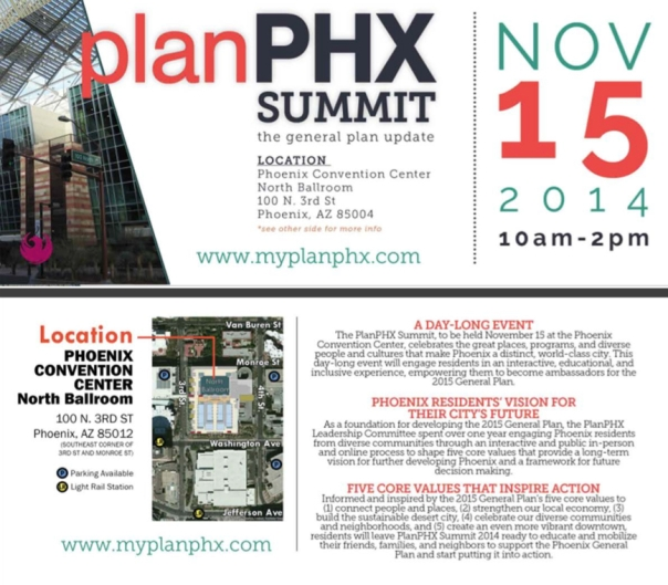 PlanPHX Summit